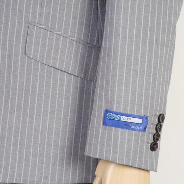 Y体  COOL MAX ノータック スリム ビジネス スーツ メンズ軽い 涼しい 型崩れに強い実用モデル 全4柄 9000 RS7005y|y-souko|03