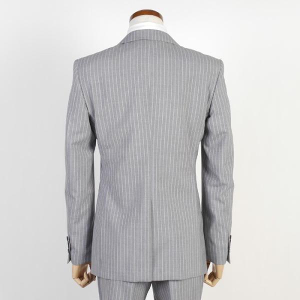 Y体  COOL MAX ノータック スリム ビジネス スーツ メンズ軽い 涼しい 型崩れに強い実用モデル 全4柄 9000 RS7005y|y-souko|04