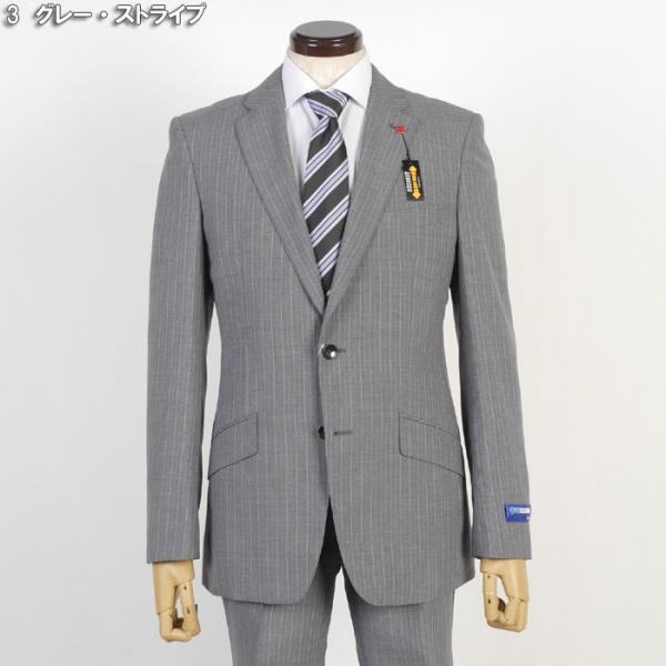 Y体  COOL MAX ノータック スリム ビジネス スーツ メンズ軽い 涼しい 型崩れに強い実用モデル 全4柄 9000 RS7005y|y-souko|09