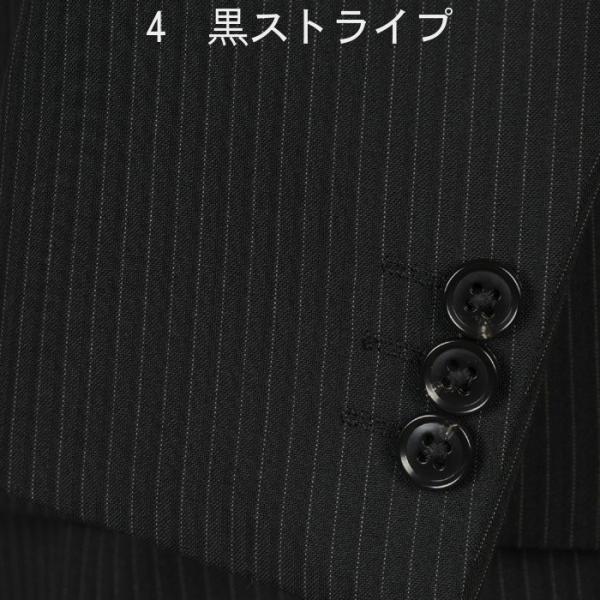 A体サイズ限定ビジネススーツメンズ 春夏ノータックナローラペル スリムスーツ全5柄 RS9002|y-souko|05