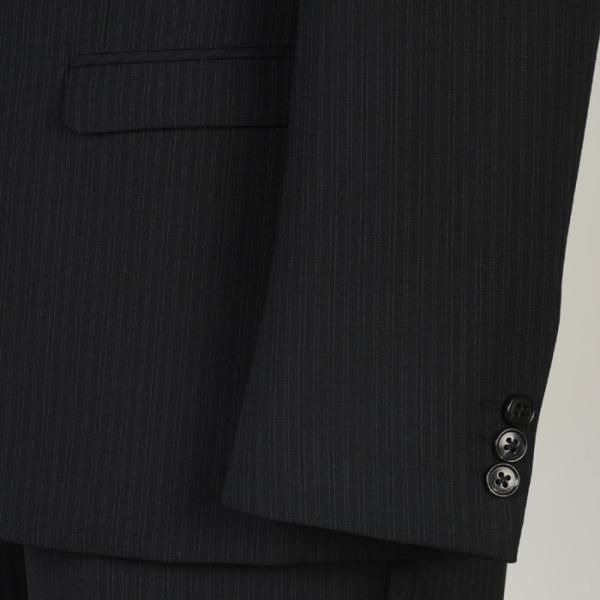 スーツ メンズ ビジネススーツ 紳士 春夏 ノータック スリムに見えまスーツ スリムスーツ A体 サイズ限定 RS9002 y-souko 10