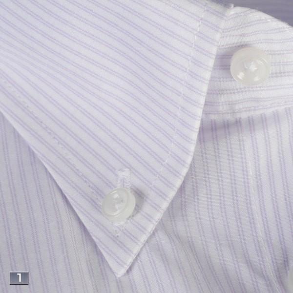 RY211−ボタンダウン長袖シャツシンプル定番 ビジネスシャツ 選べる9柄|y-souko|02