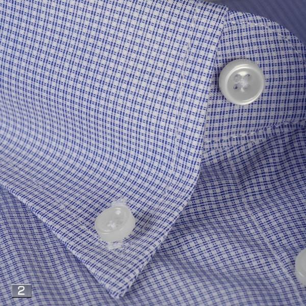 RY211−ボタンダウン長袖シャツシンプル定番 ビジネスシャツ 選べる9柄|y-souko|03