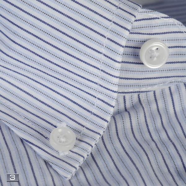 RY211−ボタンダウン長袖シャツシンプル定番 ビジネスシャツ 選べる9柄|y-souko|04