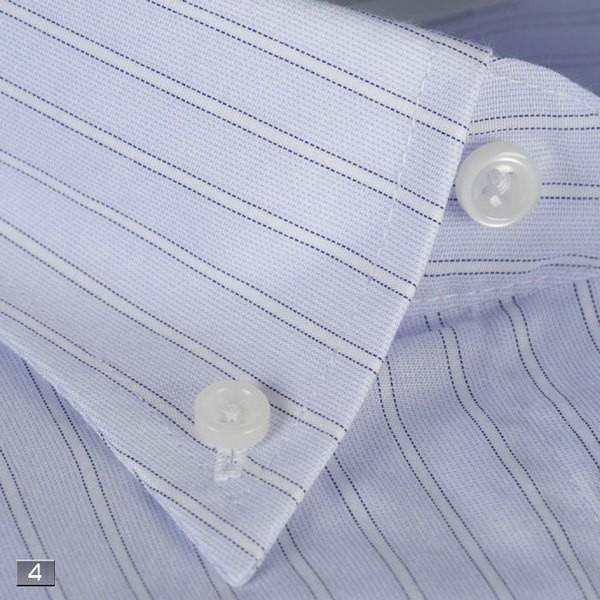 RY211−ボタンダウン長袖シャツシンプル定番 ビジネスシャツ 選べる9柄|y-souko|05