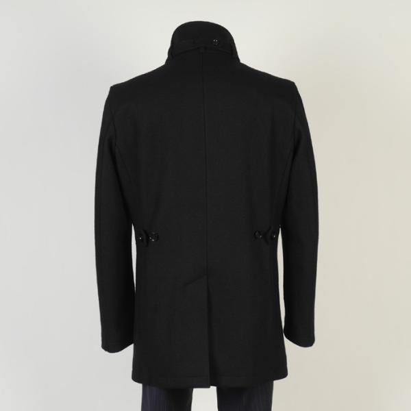 スタンドカラー コート メンズ Lサイズ ビジネスコートSG-L 13000 SC75034|y-souko|04
