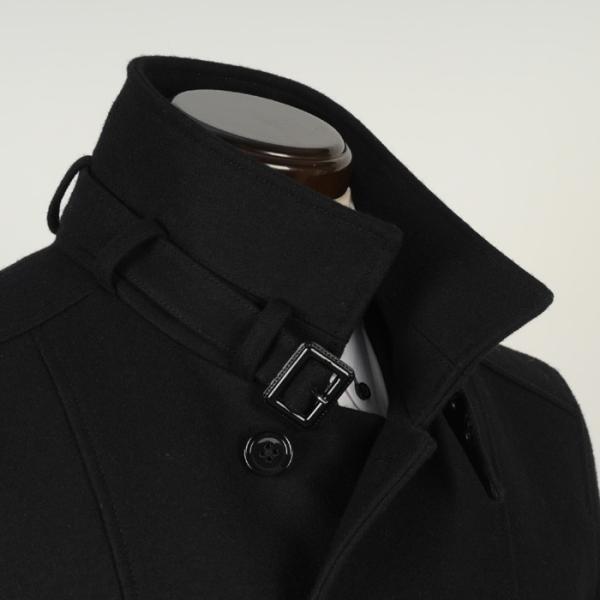 スタンドカラー コート メンズ Lサイズ ビジネスコートSG-L 13000 SC75034|y-souko|06