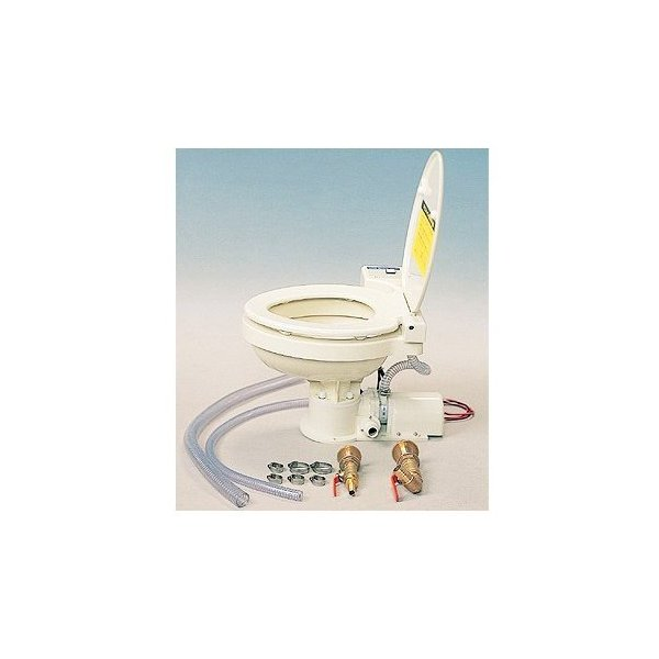 日立 MT-12 電動マニュアルマリントイレ 12V 船舶 トイレ 標準金具キット付|y-square