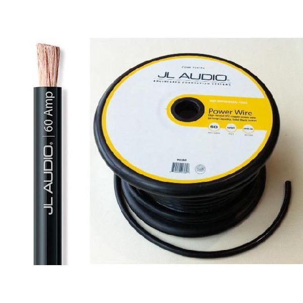 JL Audio 4ゲージ電源ケーブル 黒