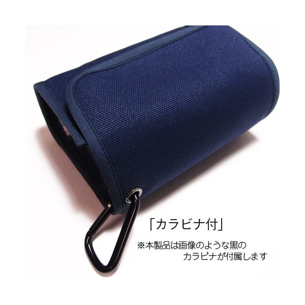 FUJIFILM X-A5ケース -カラビナ付(ブラック・ボルドーストライプ) --レンズキット用 --suono(スオーノ)ハンドメイド y-suono 06