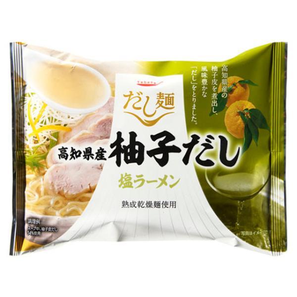 tabete だし麺 高知県産柚子だし塩ラーメン 102g x10 *