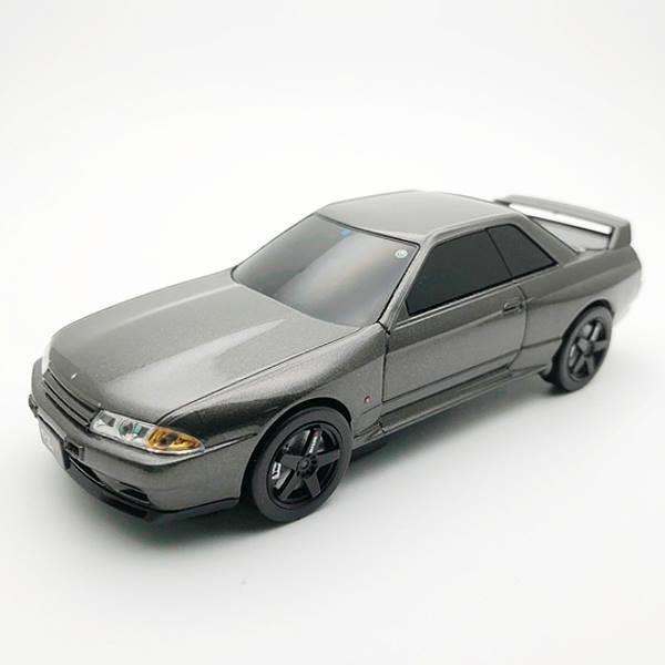 送料無料 車型 モバイルバッテリー 日産 スカイライン GT-R NISMO (BNR32) 657403 充電 おしゃれ 贈り物 ギフト ラッピング プレゼント お祝い 記念品