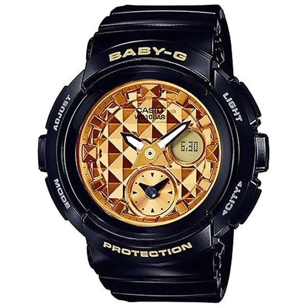 CASIOBaby-GカシオベビージーBGA-195M-1A逆輸入並行輸入品ブラックアナデジレディース腕時計