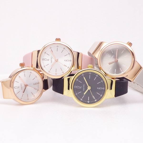 腕時計レディスファション時計シリコンベルトカラフルウォッチST220エーデルレディス日本製ムーブ使用ラバー腕時計おしゃれかわいい