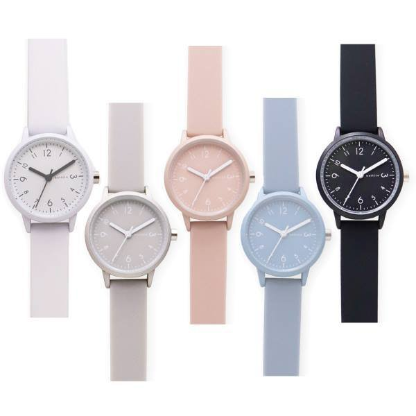 腕時計レディスシリコンベルトカラフルウォッチYM006ソダーレディス日本製ムーブ使用レディースおしゃれかわいい見やすい軽量パステ