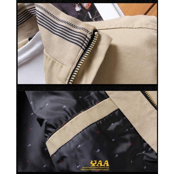 ブルゾン メンズ ジャケット はおり ジャンパー ミリタリージャケット トラックジャケット 40代 50代 60代 秋冬 ファッション|yaa|13