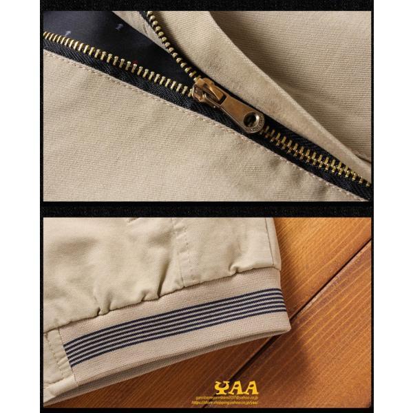 ブルゾン メンズ ジャケット はおり ジャンパー ミリタリージャケット トラックジャケット 40代 50代 60代 秋冬 ファッション|yaa|14