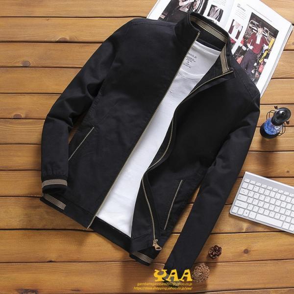 ブルゾン メンズ ジャケット はおり ジャンパー ミリタリージャケット トラックジャケット 40代 50代 60代 秋冬 ファッション|yaa|05