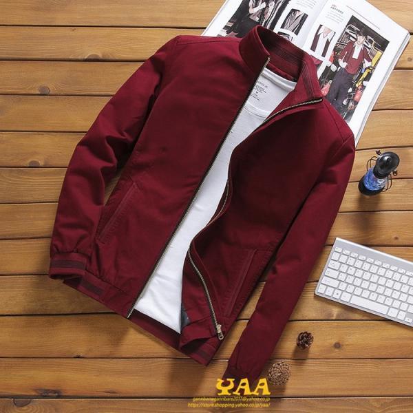 ブルゾン メンズ ジャケット はおり ジャンパー ミリタリージャケット トラックジャケット 40代 50代 60代 秋冬 ファッション|yaa|07