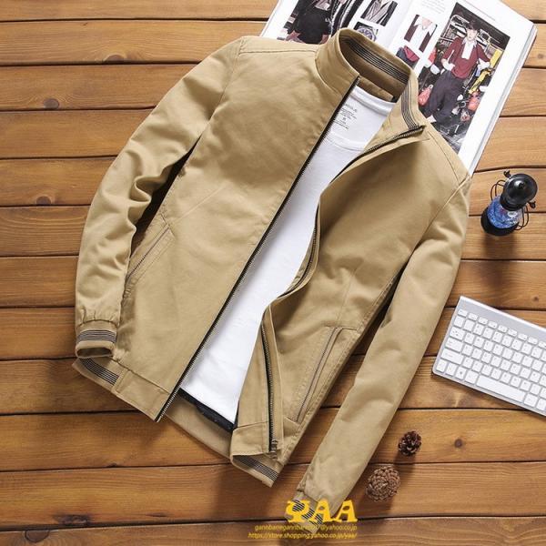 ブルゾン メンズ ジャケット はおり ジャンパー ミリタリージャケット トラックジャケット 40代 50代 60代 秋冬 ファッション|yaa|08