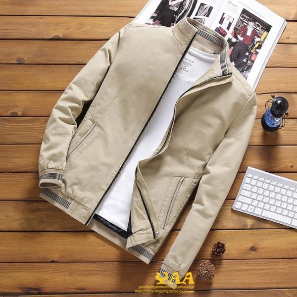 ブルゾン メンズ ジャケット はおり ジャンパー ミリタリージャケット トラックジャケット 40代 50代 60代 秋冬 ファッション|yaa|09