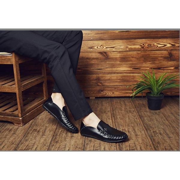 モカシン メンズ ビジネスシューズ 革靴 紳士 シューズ 歩きやすい革靴 疲れない 通勤シューズ 新作 父の日 2018 新春 YAA|yaa|03