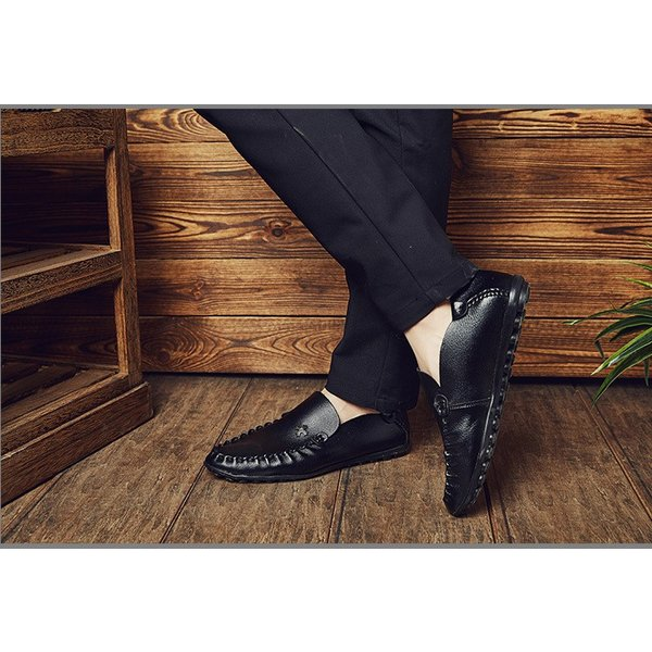 モカシン メンズ ビジネスシューズ 革靴 紳士 シューズ 歩きやすい革靴 疲れない 通勤シューズ 新作 父の日 2018 新春 YAA|yaa|04