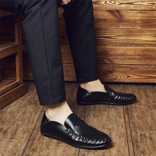 モカシン メンズ ビジネスシューズ 革靴 紳士 シューズ 歩きやすい革靴 疲れない 通勤シューズ 新作 父の日 2018 新春 YAA|yaa|05