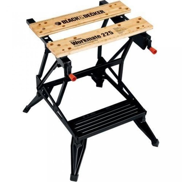 ブラックアンドデッカー 工具・DIY ブランド Black & Decker WM225 Workmate 225 450-Pound Capacity Portable Work Bench by BLACK+DECKER 正規輸入品
