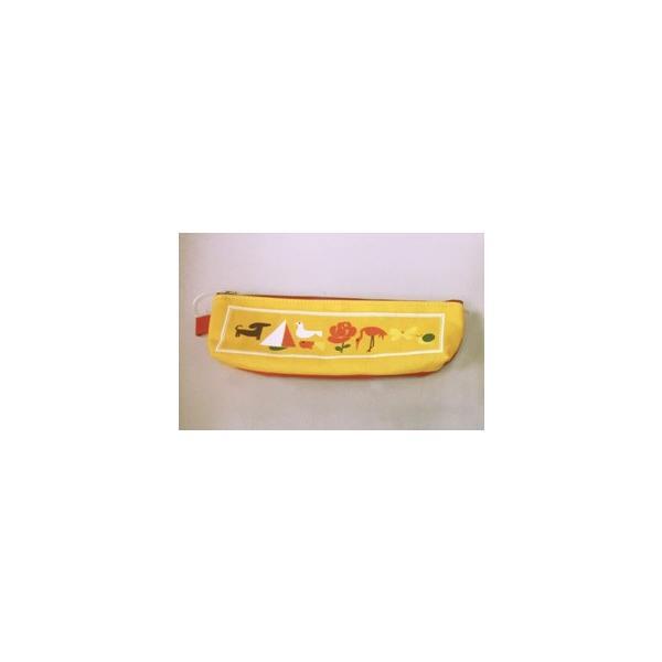KITERA × サクラクレパス コラボ ペンケース クレパス柄 KSPC-LP|yafuu-shogei