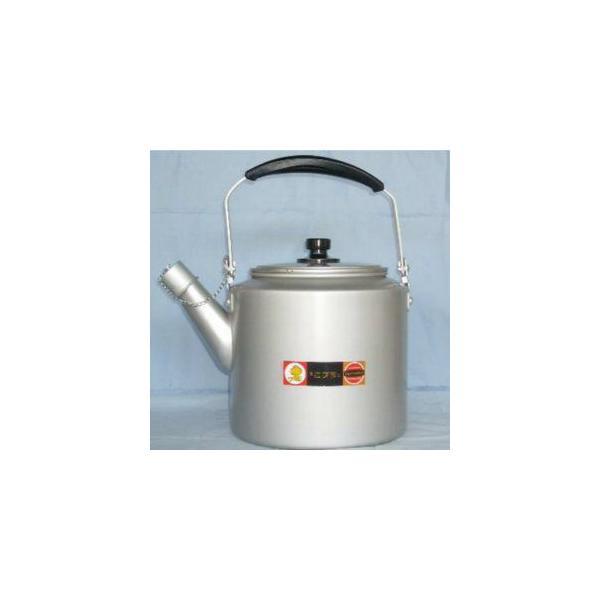 やかん ヤカン ケトル 大型 前川金属 アルミ シルバーハイケットル10L 薬缶 ケットル|yakanya
