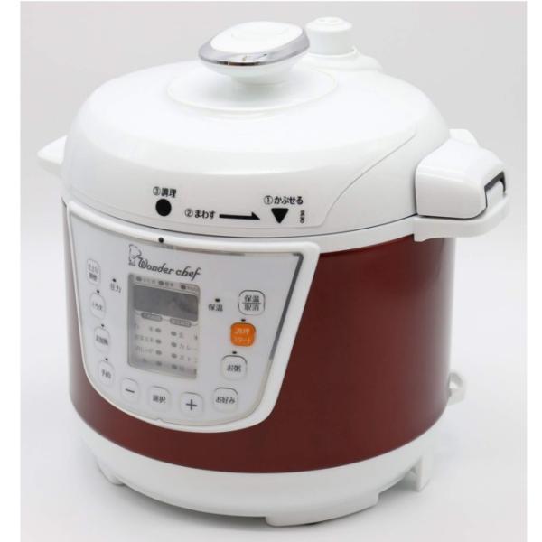電気圧力鍋 ワンダーシェフ マイコン電気圧力鍋 3L OEDC30 R1 圧力鍋|yakanya|04