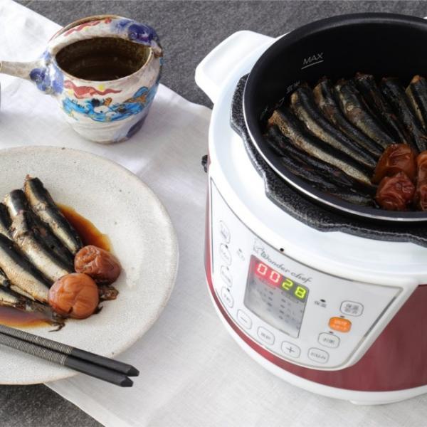電気圧力鍋 ワンダーシェフ マイコン電気圧力鍋 3L OEDC30 R1 圧力鍋|yakanya|05