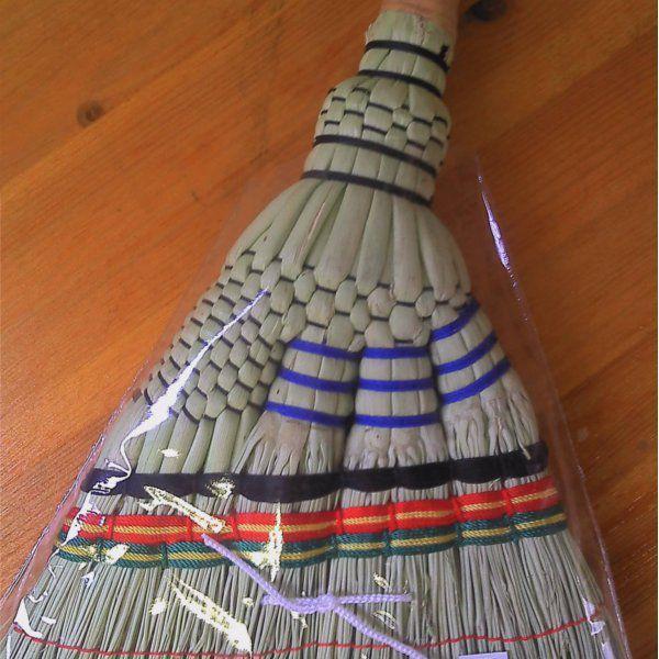 ほうき ちりとりセット 手編みホーキ 短柄&ダストパンセット|yakanya|03