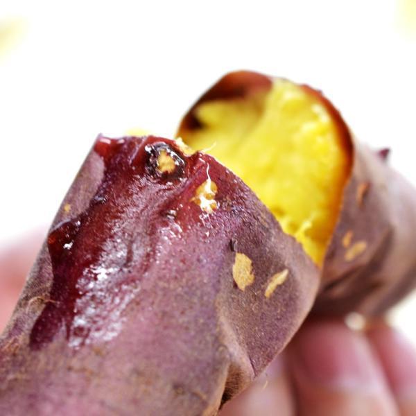 焼き芋 冷やし焼き芋 やきいも 茨城県産 1kg シルクスイート|yakiimo-adumaya|04