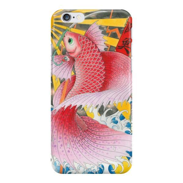 和柄iPhoneケース『闘魚-ベタ-』 iPhone7 plus / 6s plus / 6 plus 用|yakudo-engine