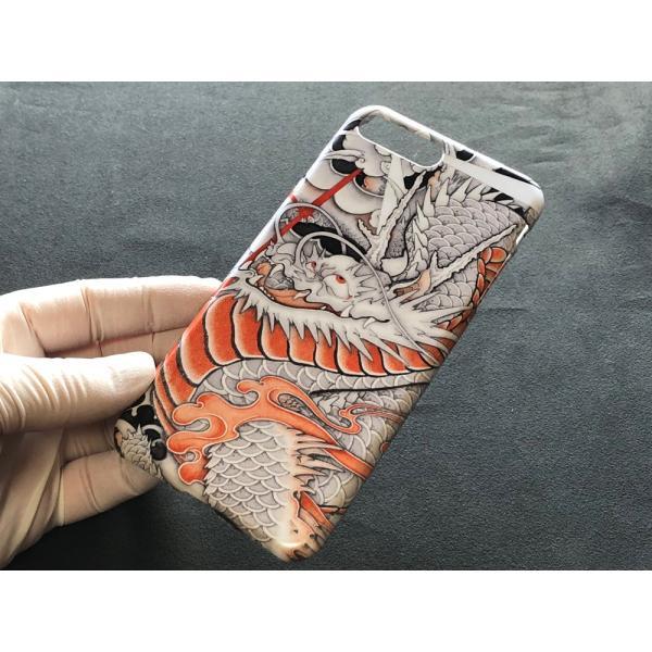 和柄iPhoneケース『台風龍』 iPhone 8 plus/ iPhone 7 plus 用|yakudo-engine