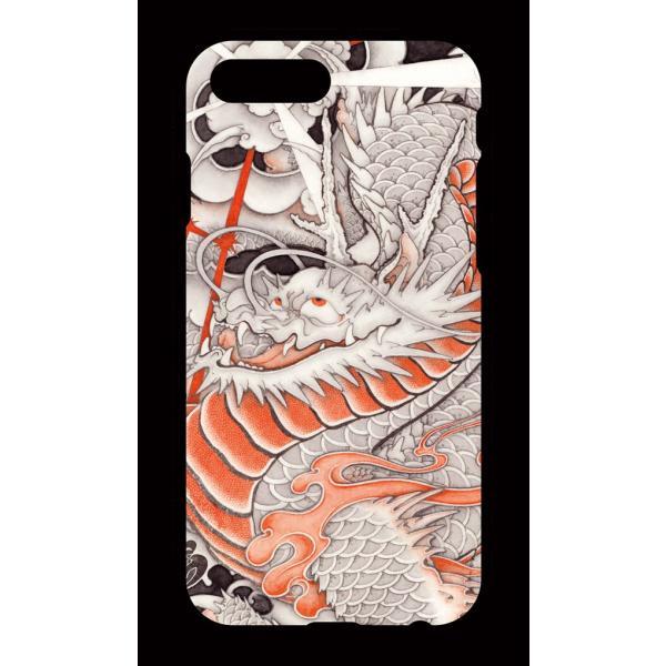 和柄iPhoneケース『台風龍』 iPhone 8 plus/ iPhone 7 plus 用|yakudo-engine|02