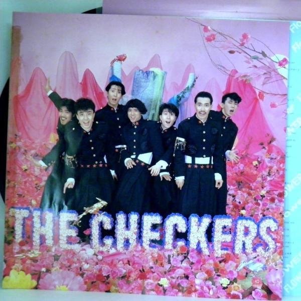 ←【検聴合格】↑針飛無安心レコード】1986年・超美盤! 帯付・チェッカーズ「フラワー FLOWER」1|yakusekien|07