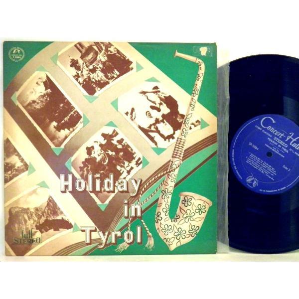 ←【検聴合格:↑針飛び無しの安心レコード】1963年・超稀少盤!美盤!懐古盤・「ホリディ・イン・チロル チロルの山の雀たち」【LP】