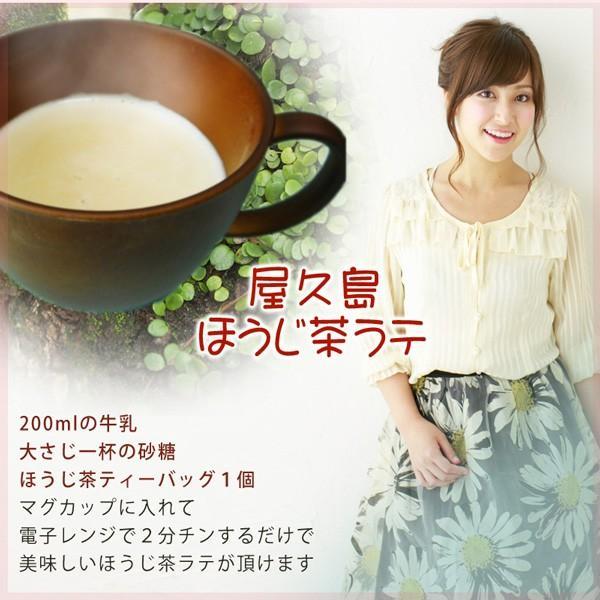 屋久島ほうじ茶(ティーバッグ)  / 無農薬 / 有機栽培 / 産地直送|yakushimashop|04