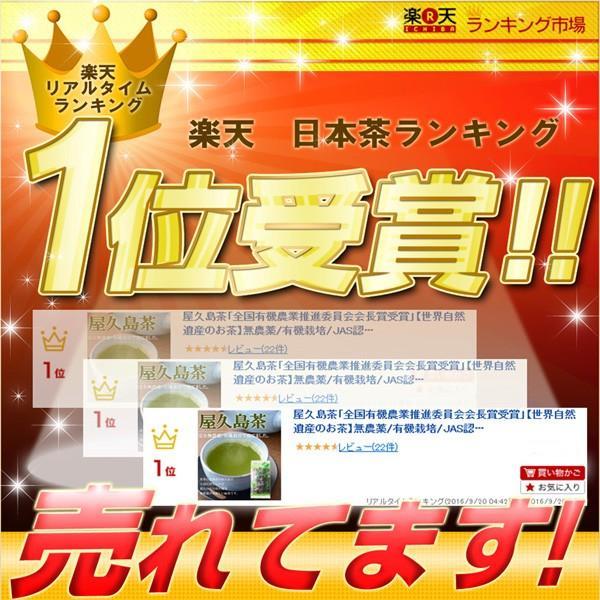 屋久島茶(80g)  無農薬 有機栽培 産地直送 JAS認定|yakushimashop|02