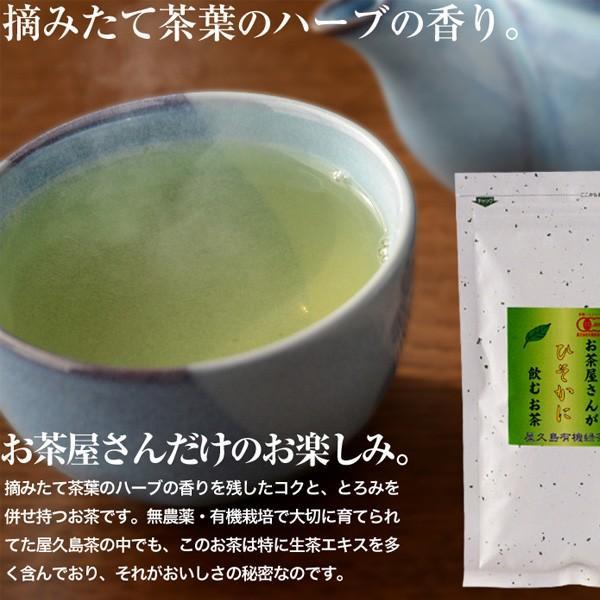 お茶屋さんがひそかに飲むお茶 2袋セット  / 無農薬 / 有機栽培 / 産地直送|yakushimashop|06