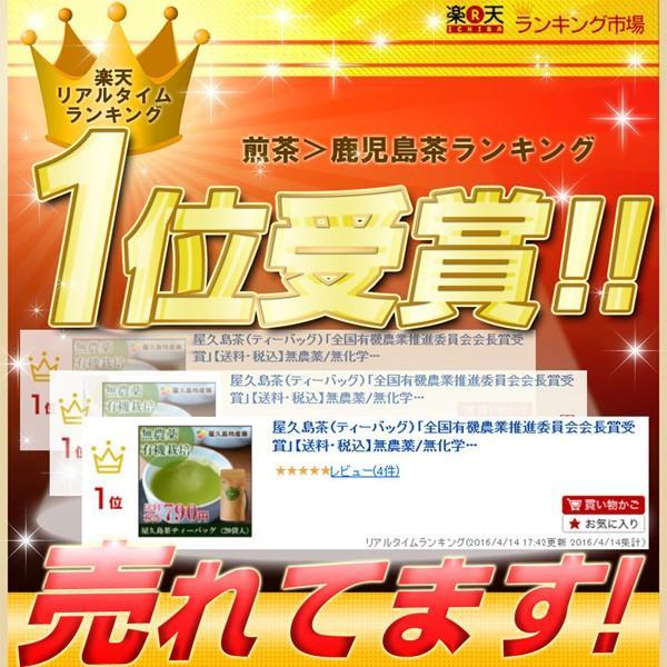屋久島茶(ティーバッグ)  / 無農薬 / 有機栽培 / 産地直送|yakushimashop|02