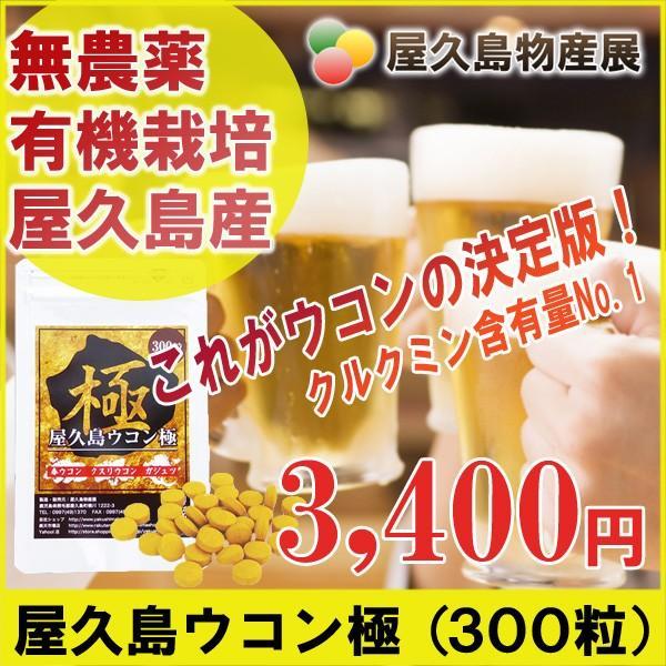 屋久島ウコン極(300粒) / 無農薬 / 有機栽培 / 産地直送|yakushimashop