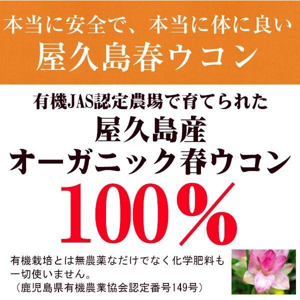 サプリ 屋久島春ウコン粒(300粒)8袋セット / 無農薬 / 有機栽培 / 産地直送 / サプリメント|yakushimashop|02