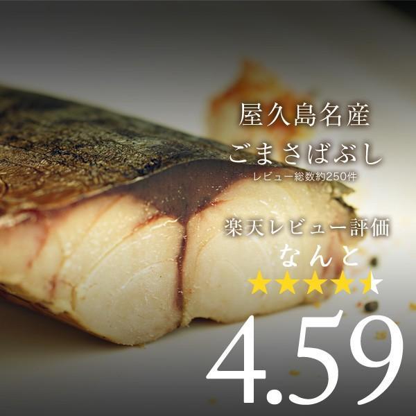 鯖 なまり節 屋久島名産ごまさばぶし1本入 6パックセット|yakushimashop|06