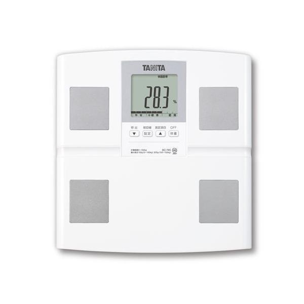 タニタBC-765-WH体組成計ホワイト体重計