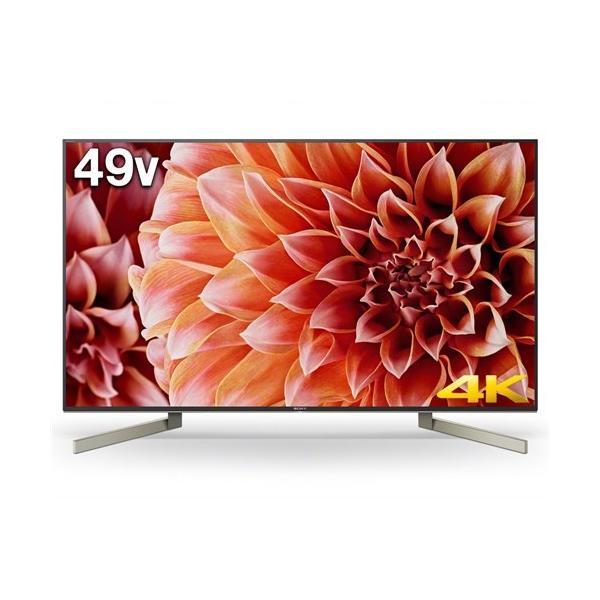 ソニー 49V型 4K対応液晶テレビ BRAVIA(ブラビア)(android tv)(4Kチューナー別売) KJ-49X9000Fの画像