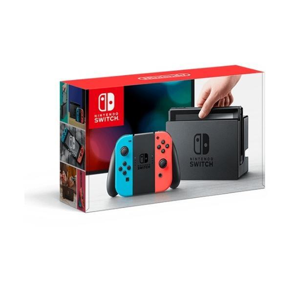 任天堂 Nintendo Switch Joy-Con(L) ネオンブルー/(R) ネオンレッド HAC-S-KABAA|yamada-denki